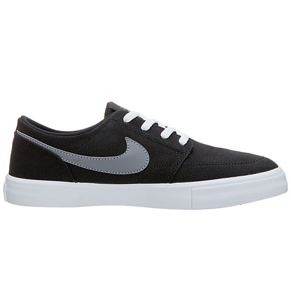NIKE SB, Portmore II Solarsoft schwarz Sneakers Niedrig, schwarz Solarsoft  Gute Qualität beliebte Schuhe c4b9ef