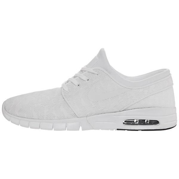 Nike Sb Weiß Stefan Max Janoski Sneakers Low R4Aj35L