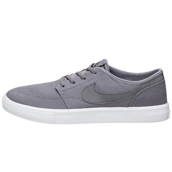 NIKE Sneakers SB, Portmore II Solarsoft Sneakers NIKE Low, grau  Gute Qualität beliebte Schuhe 84e471