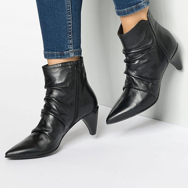 Klassische Nora schwarz Stiefeletten Zinda Lele STvqxf