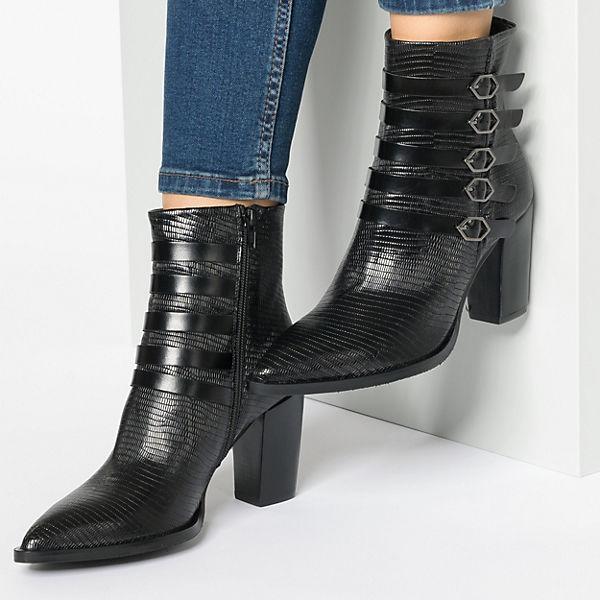 Zinda, Jota Goma Klassische Stiefeletten, schwarz  Gute Qualität beliebte Schuhe