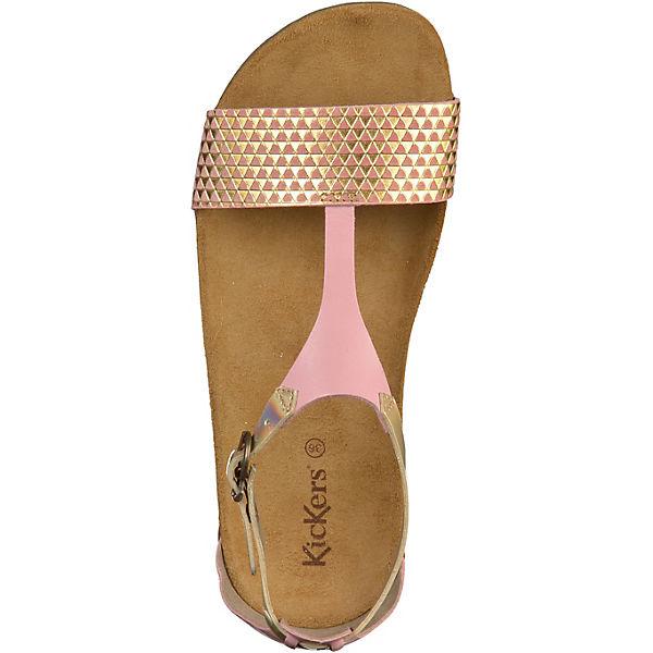 KicKers, Klassische Gute Sandalen, rosa  Gute Klassische Qualität beliebte Schuhe f46692