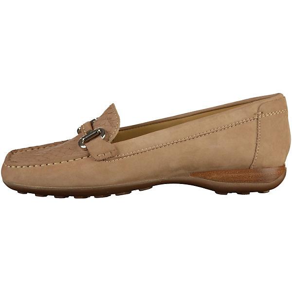 GEOX, Mokassins, beige  Gute Qualität beliebte Schuhe