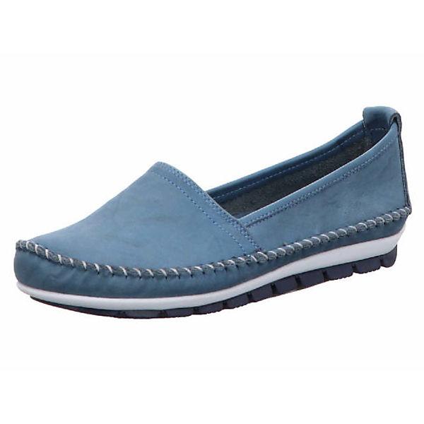 GEMINI Loafers blau  Gute Qualität beliebte Schuhe