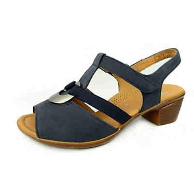 hot new products clearance sale elegant shoes ara Sandaletten in blau günstig kaufen | mirapodo