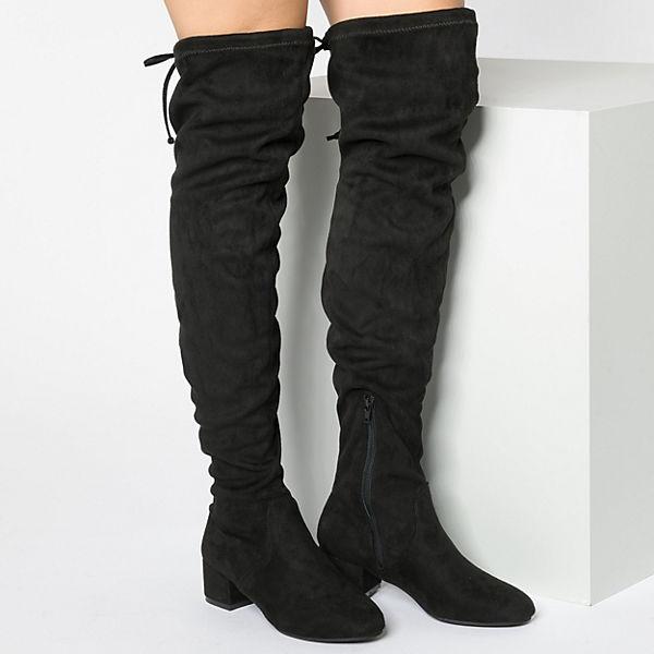 Anna Field, Overknee-Stiefel, schwarz  Gute Qualität beliebte Schuhe