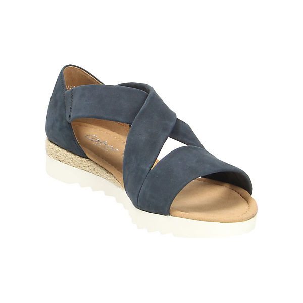 Gabor Gabor Klassische Klassische Sandalen blau xqR0fwfB