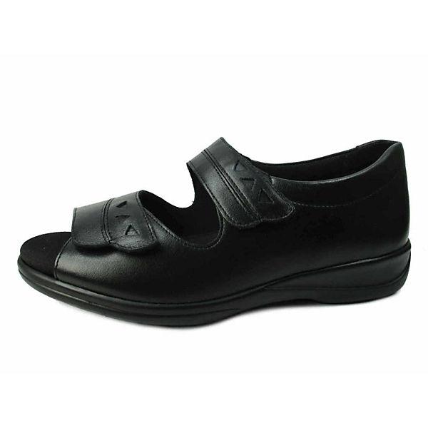 Solidus Komfort-Sandalen schwarz  Gute Qualität beliebte Schuhe