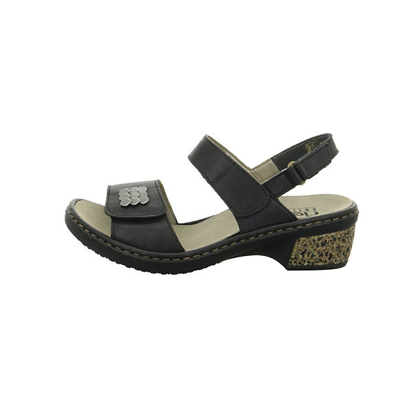 Rieker, Klassische Sandaletten, Schuhe schwarz Gute Qualität beliebte Schuhe Sandaletten, 2b44db