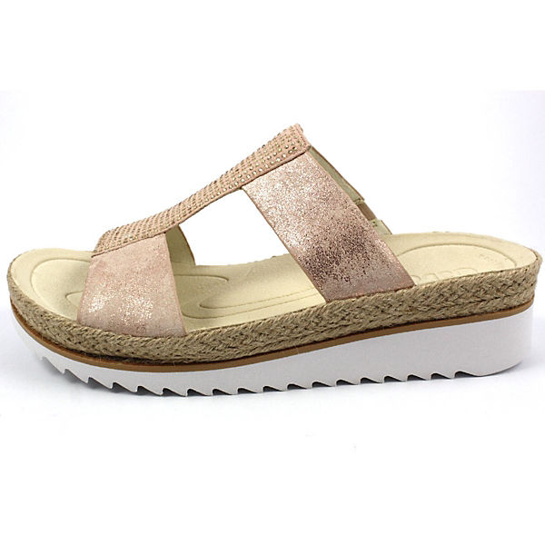 Gabor, Pantoletten, bronze  Gute Qualität beliebte Schuhe
