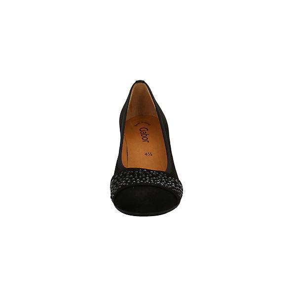 Gabor, Klassische Qualität Pumps, schwarz  Gute Qualität Klassische beliebte Schuhe ef9720