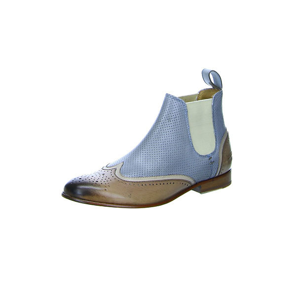 amp; braun Boots Chelsea MELVIN HAMILTON blau zS1dqw6x