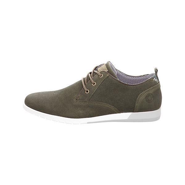 BULLBOXER, Klassische Halbschuhe, grau/grün  Gute Qualität beliebte Schuhe