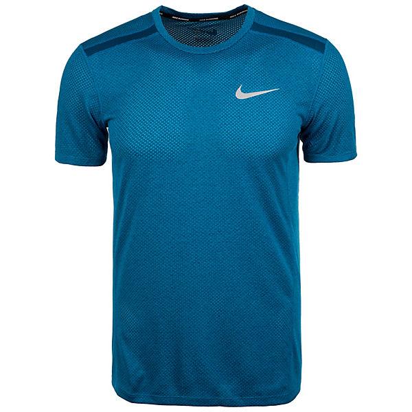 Nike Performance Herren Dry Miler Laufshirt Blau MVzpqSU