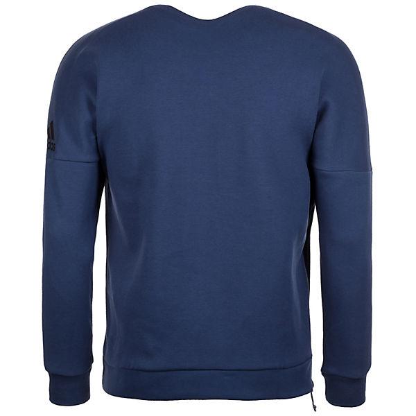 E Herren Performance adidas Z Sweatshirt blau Quarter Crew N Zip adidas 4UqIa