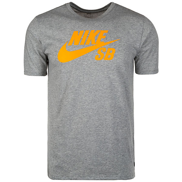 T Nike orange Herren Shirt grau NIKE SB Logo qzwpzt6