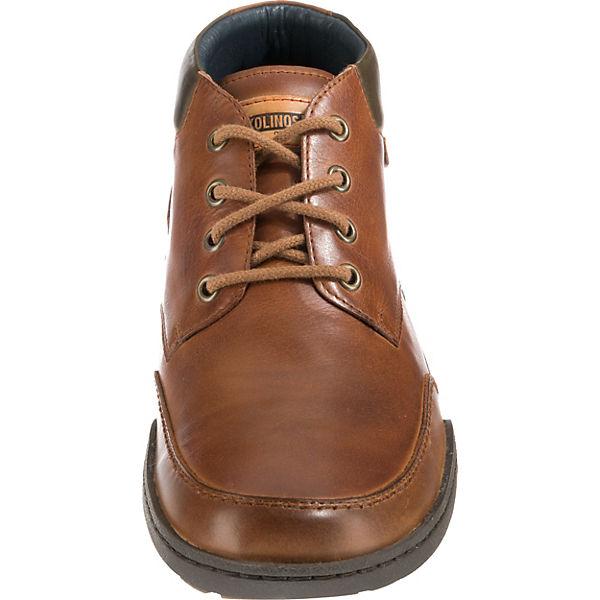 Pikolinos, ESTOCOLMO M2J Schnürstiefeletten, Schnürstiefeletten, Schnürstiefeletten, cognac  Gute Qualität beliebte Schuhe de35dc