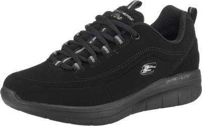 SKECHERS, SYNERGY 2.0 SIDE STEP Sneakers Low, schwarz