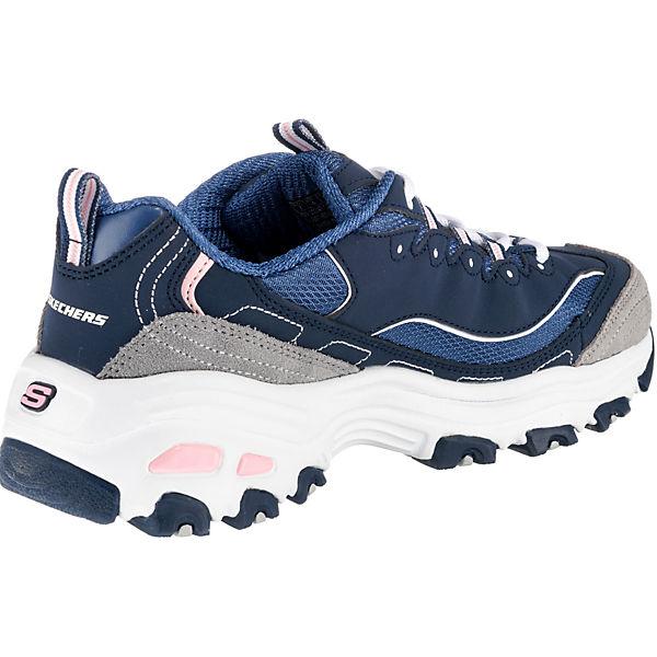 SKECHERS, D'LITESNEW JOURNEY Sneakers Qualität Low, dunkelblau  Gute Qualität Sneakers beliebte Schuhe 8f56ee