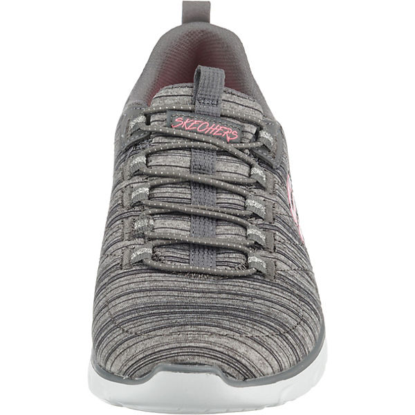 Low Sneakers grau EMPIRE SKECHERS nbsp; D'LUX 7AOpwBq
