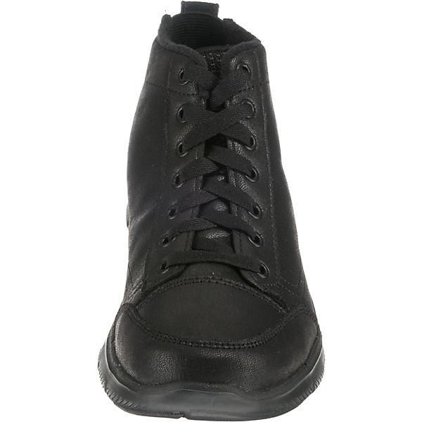 SKECHERS, FLEX APPEAL Qualität 2.0WARM WISHES Winterstiefeletten, schwarz  Gute Qualität APPEAL beliebte Schuhe 66457a