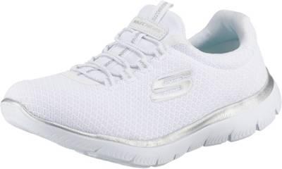 SKECHERS, Summits Slip-On-Sneaker, weiß