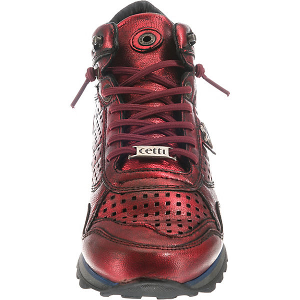 Cetti, Sneakers High, High, High, bordeaux  Gute Qualität beliebte Schuhe f4461b