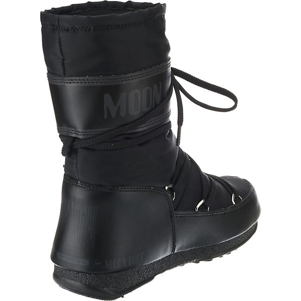 Winterstiefel E Moonboot Soft Boot W schwarz Moon Mid WP Shade 88nfqTO