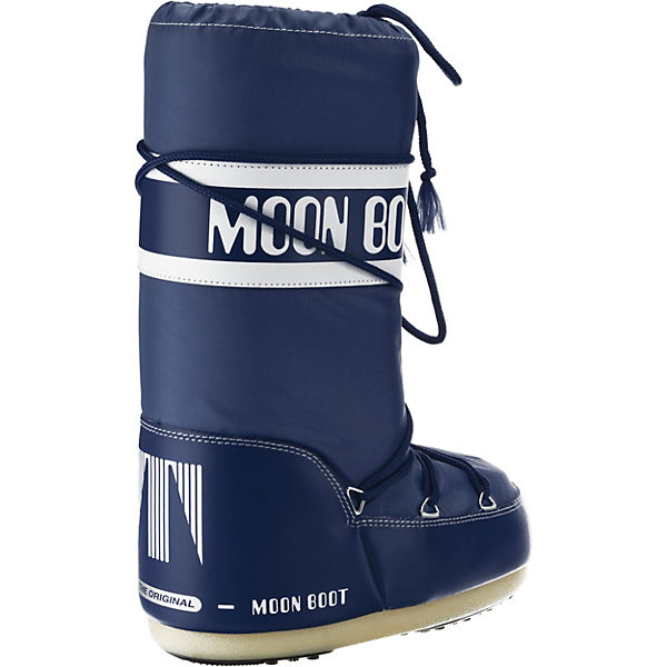 blau Winterstiefel Boot Moon Moonboot Nylon xqYBBI