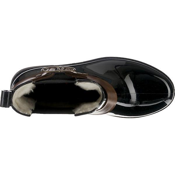 rieker, Winterstiefeletten, schwarz schwarz schwarz   21660d