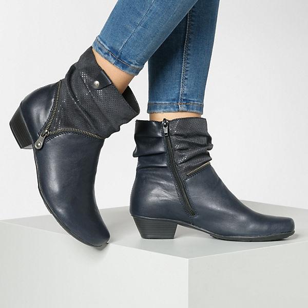 rieker, Klassische Stiefeletten, dunkelblau Schuhe  Gute Qualität beliebte Schuhe dunkelblau 2baf47