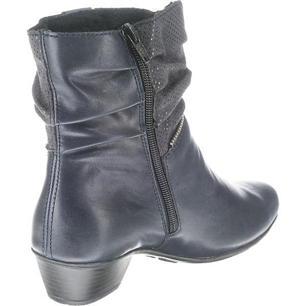 rieker, Klassische Stiefeletten, dunkelblau Schuhe  Gute Qualität beliebte Schuhe dunkelblau 18c972