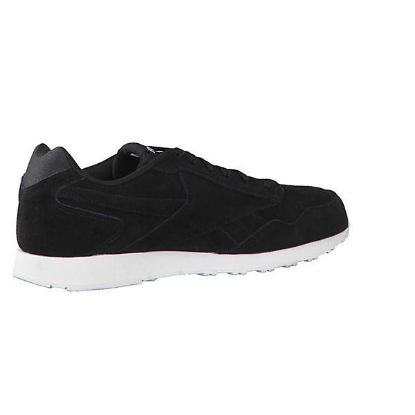 Laufsohle CN0456 Sneakers LX Royal weiß profilierter schwarz Reebok mit Glide Low xwqaXFWYH