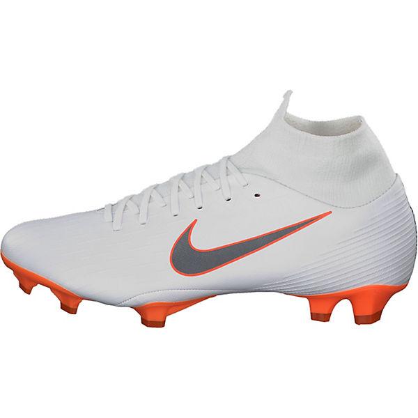 NIKE Mercurial Superfly VI Pro FG AH7368-081 mit Nocken-Sohle Fußballschuhe weiß-kombi  Gute Qualität beliebte Schuhe