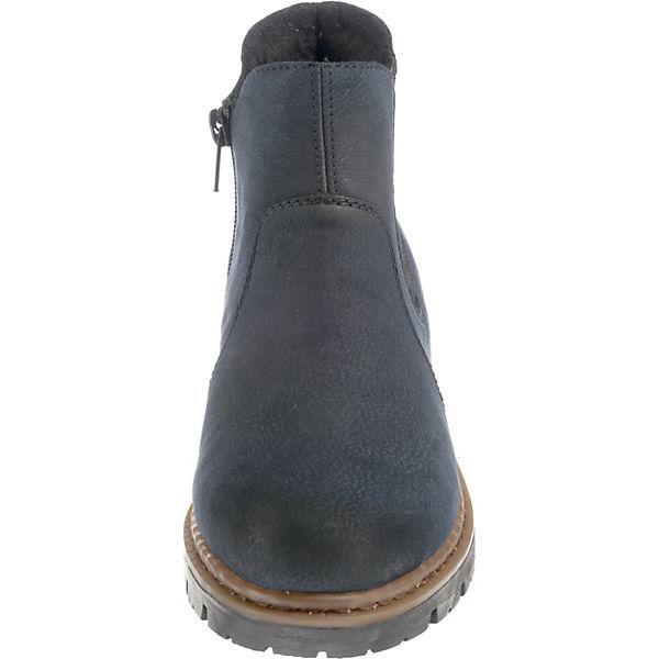 rieker, Winterstiefeletten, dunkelblau     956075