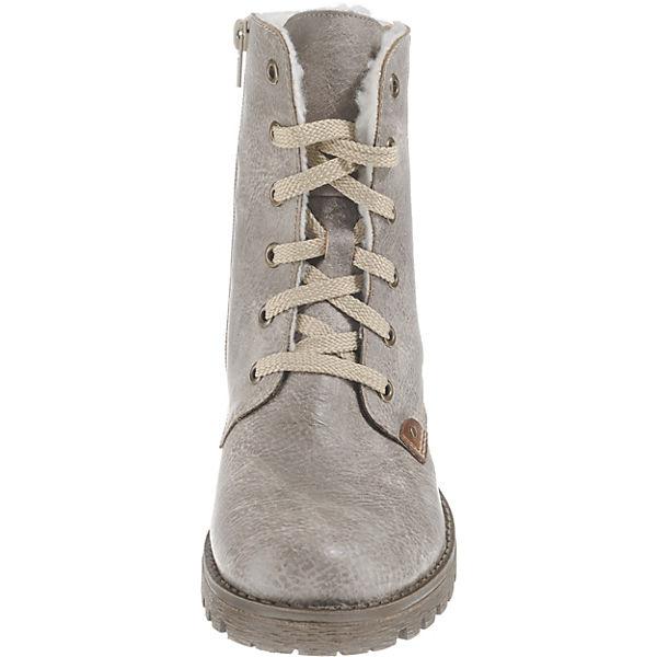 rieker,  Winterstiefeletten, grau  rieker, Gute Qualität beliebte Schuhe 21aa3d