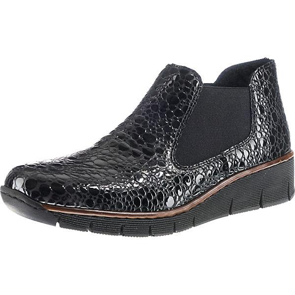 Chelsea Chelsea rieker schwarz Boots Chelsea schwarz rieker Boots schwarz rieker rieker Boots Chelsea RY4nHqHvW