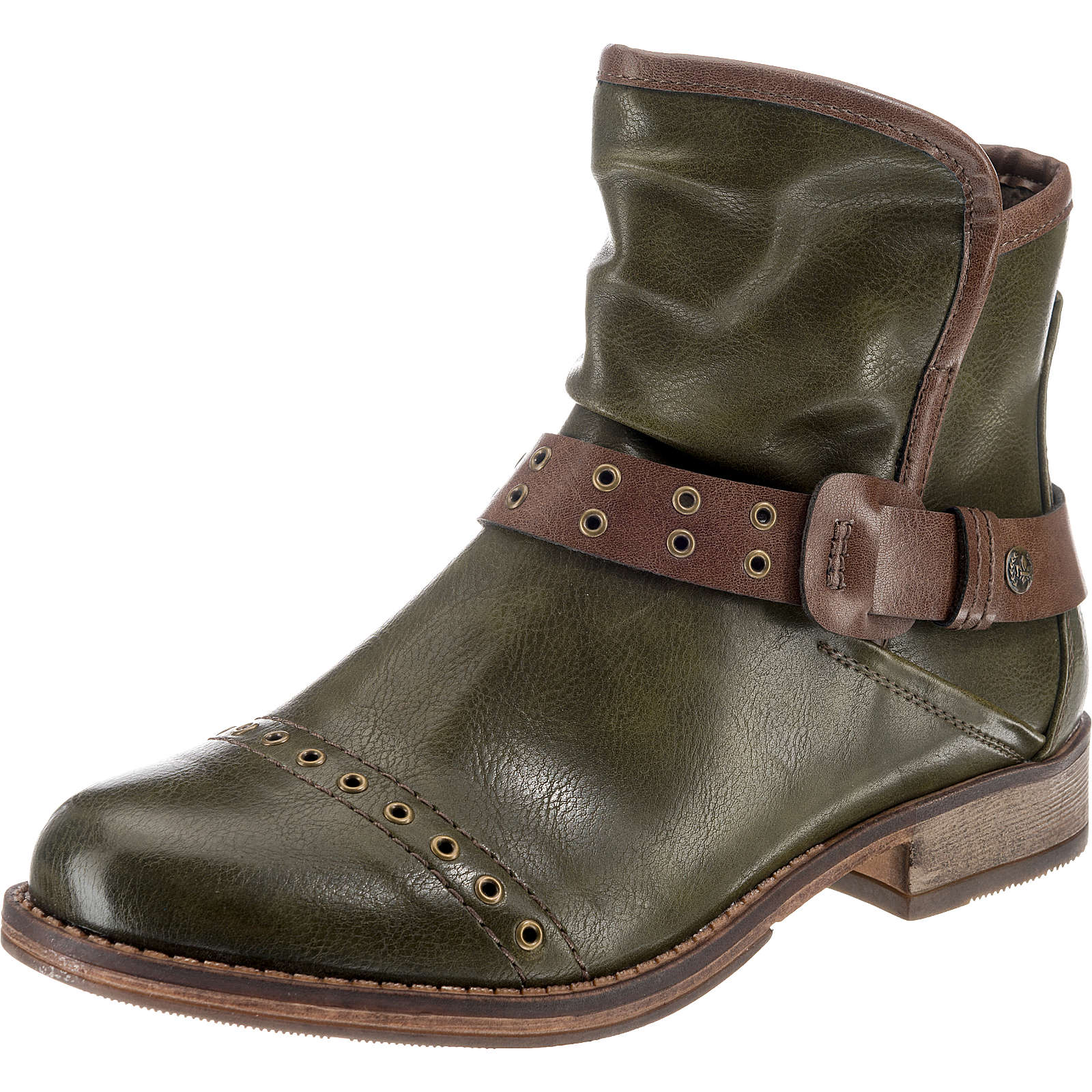 rieker Biker Boots grün Damen Gr. 39