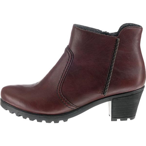 Rieker, Rieker, Rieker, Klassische Stiefeletten, dunkelrot  Gute Qualität beliebte Schuhe 7e9917