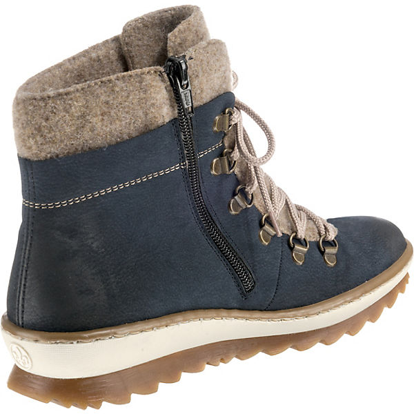 Rieker, Winterstiefeletten, Gute dunkelblau  Gute Winterstiefeletten, Qualität beliebte Schuhe 9ecff0