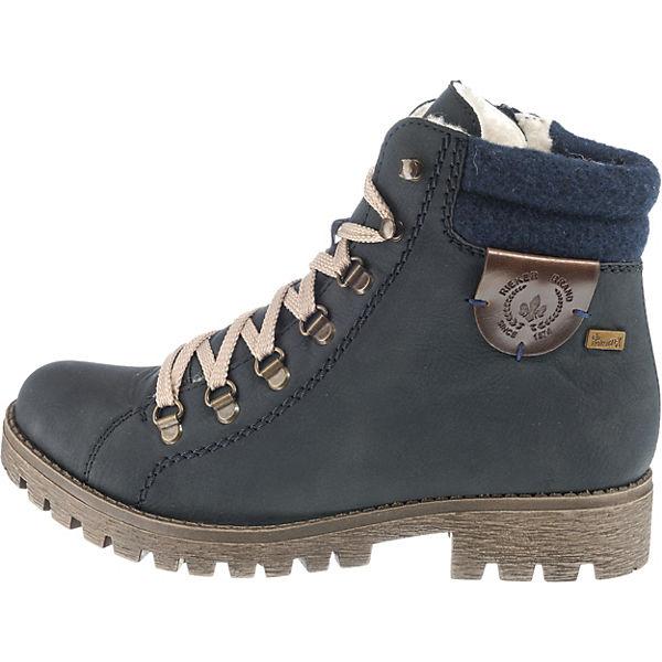 rieker,  Winterstiefeletten, dunkelblau  rieker, Gute Qualität beliebte Schuhe c81ccc