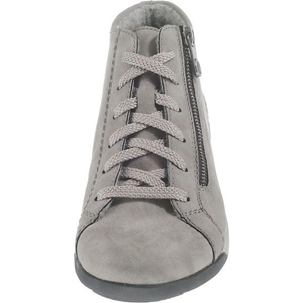 rieker, Schnürstiefeletten, grau  Gute Schuhe Qualität beliebte Schuhe Gute 508878