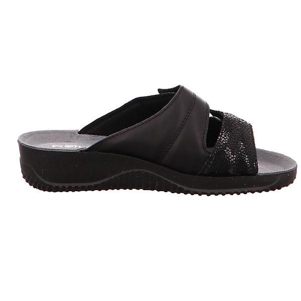 ROHDE, Soltau 1946-90 Komfort-Pantoletten, Komfort-Pantoletten, 1946-90 schwarz  Gute Qualität beliebte Schuhe e5ef5e
