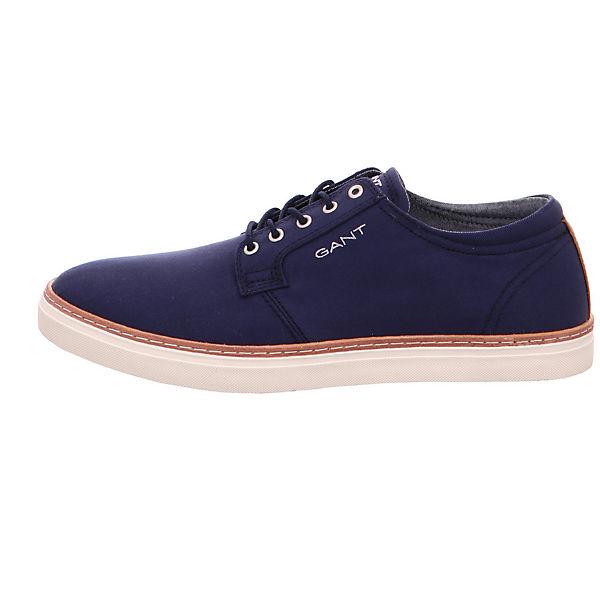 G69 Textil GANT Low 16638456 Bari blau Sneakers tCanBqFUwH