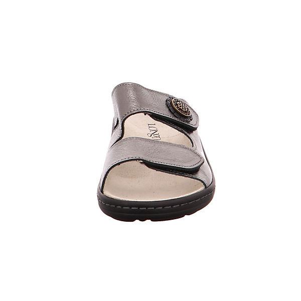 Longo, Perlatoin bronze 1006389 Komfort-Pantoletten, gold  Gute Qualität beliebte Schuhe
