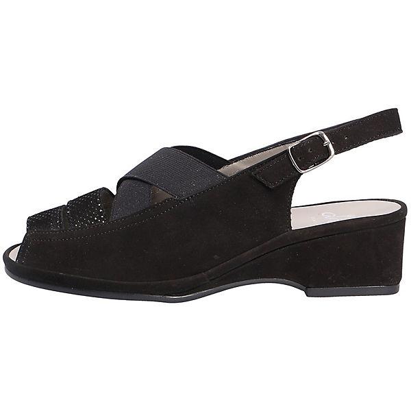 ara, Sling-Pumps, Gute schwarz  Gute Sling-Pumps, Qualität beliebte Schuhe 480742