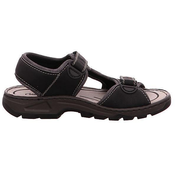 rieker, 26156-00 Klassische Sandalen, schwarz Schuhe  Gute Qualität beliebte Schuhe schwarz d47c6d