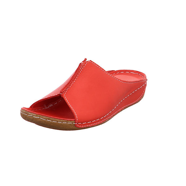 Andrea Conti 27423021 Pantoletten rot-kombi