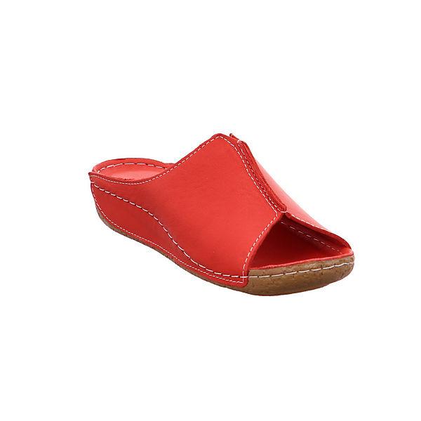 Andrea Conti, 27423021 Qualität Pantoletten, rot-kombi  Gute Qualität 27423021 beliebte Schuhe 4b7744