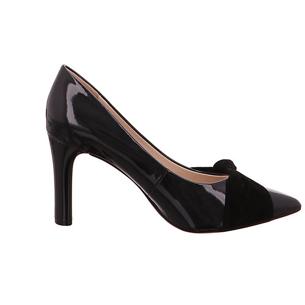 CAPRICE, Lackspitz 22403-019 Klassische Pumps, schwarz Schuhe  Gute Qualität beliebte Schuhe schwarz c7c04e